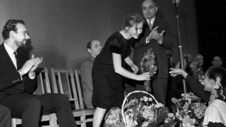 """После премьеры фильма """"Дама с собачкой"""", 1960"""