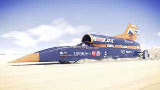 Gaariga Supersonic oo socda