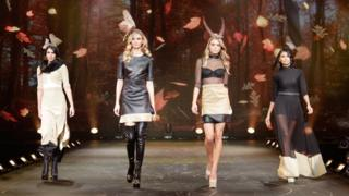 Models take to the catwalk at The Clothes Show