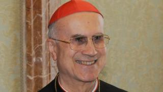 Cardinal Tarcisio Bertone on 3 June 2011 in Vatican City