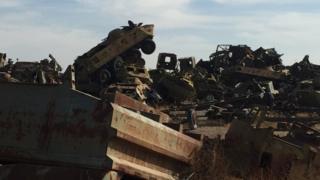 زباله های نظامی