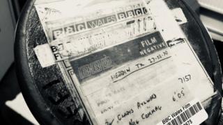 Un o hen eitemau ffilm y gyfres newyddion Heddiw o 1970