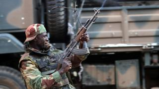 Troops in Harare opening fire to disperse protesters after July election