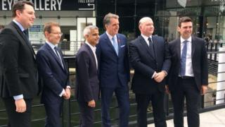 Six of the mayors