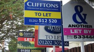 Lettings signs