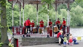 Chester bandstand