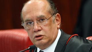 Gilmar Mendes no julgamento do TSE