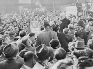 Черчилль у 1951 році