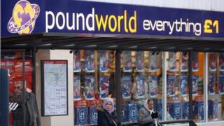 Poundworld store (in Lewisham)
