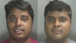 Ilvarasan and Vinothan Rajenthiram