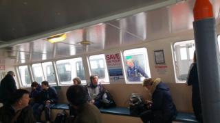Passengers on Trident