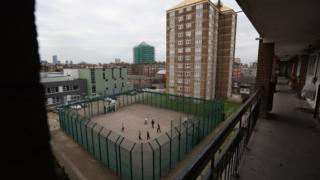 playground in Tower Hamlets