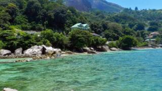 Una imagen idílica de la isla donde se supone está el tesoro