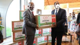 Covid-organics Tanzania consignment