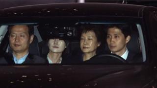 อดีตประธานาธิบดีเกาหลีใต้,คอร์รัปชั่น,เกาหลีใต้,ปัก กึน เฮ