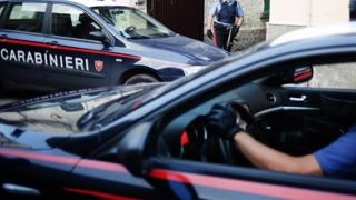 File pic of Carabinieri police in Italy