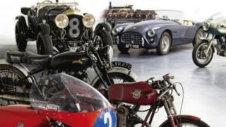 Robert White Collection of motorcycles and cars