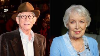 Sir John Hurt and June Whitfield