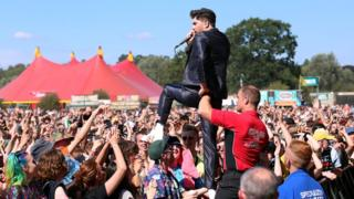 Sam McTrusty at Reading Festival