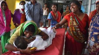 मुज़फ़्फ़रपुर में बच्चों की मौत