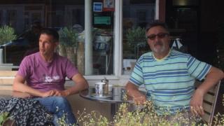 Wayne Libonati and Tony Madrugo