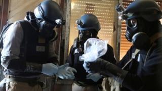 """روسيا والصين تعارضان فرض عقوبات جديدة ضد الحكومة السورية بسبب """"استخدام أسلحة كيماوية"""""""