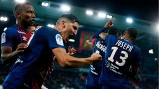 Le marocain Fayçal Fajr a inscrit le but de la victoire pour Caen face à Dijon (victoire 1-0).