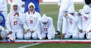 footbal, women. iran