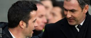 Marco Silva and Paul Clement