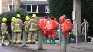 Emergency services at Mill Bay Lane