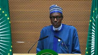 Nigeria President Muhammudu Buhari