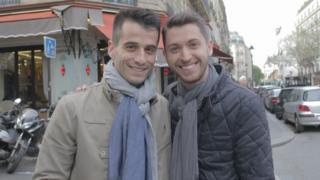 Baptiste ve Anthony