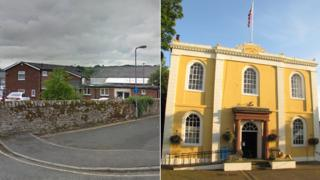 HM Coroner's Office, Cockermouth and Cockermouth Town Hall