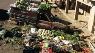 انفجار در جمعه بازار شهر کلایه