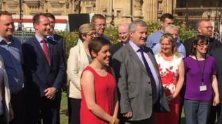 SNP Westminster team