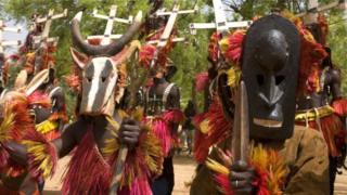 Aba Dogon bamaze imyaka ishika mu binjana hagati muri Mali