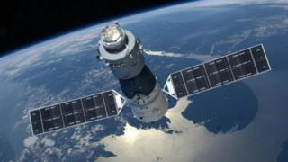 The Tiangong I spacecraft