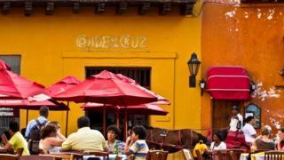 Un café en un ricón de Colombia