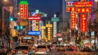 Thailand, China, Vành đai Con đường