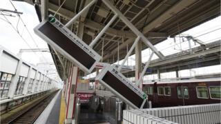 Na staničnoj platformi napravljena je šteta