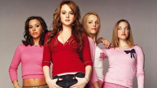 Lacey Chabert, Lindsay Lohan, Rachel McAdams and Amanda Seyfried in Mean Girls