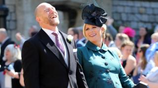 Zara and Mike Tindall