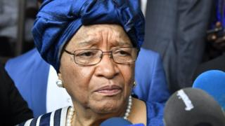 Ellen Johnson Sirleaf aremera ko ikibazo c'igiturire mu gihugu kiriho