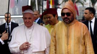 Pope Francis na Eze ndí Moroko