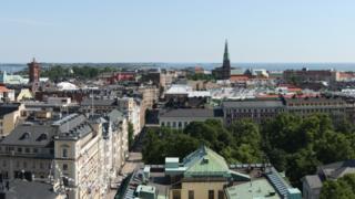 Helsinki skyline, 2011