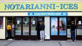 Notarianni ice cream parlour