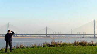 міст над річкою Мерсі