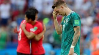 Bất ngờ lớn nhất, Đức bị Hàn Quốc hạ 2-0, chính thức thành cựu vương