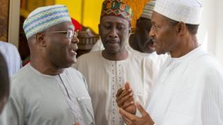 Atiku Abubakar da Muhammadu Buhari