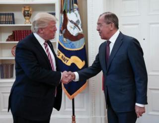 АКШ Президенти Дональд Трамп Орусиянын Тышкы иштер министри Сергей Лавров